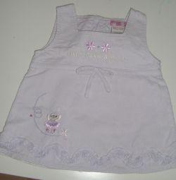 Платье на девочку 6-12 месяцев