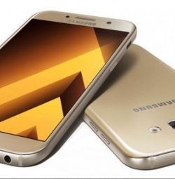 Новий Samsung Galaxy A7 2016, gold