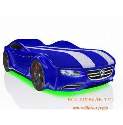 Bed Driver μηχάνημα με ένα συρτάρι και επώνυμες λωρίδες (μπλε Volkswagen)
