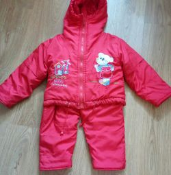 Jacket and overalls 86 size