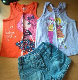 Ρούχα για ένα κορίτσι 2-2,5 ετών