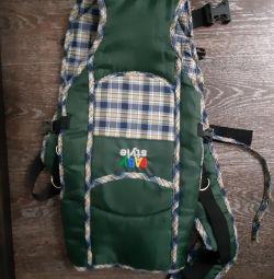 Kangaroo, ergorkukzak, carrying, cotton