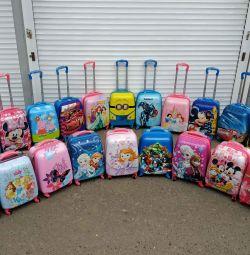 Дитячий валізу на колесах