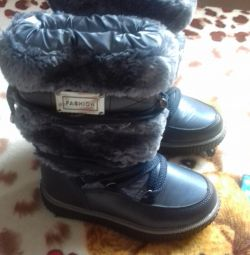 winter boots new 25-26r