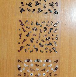 Tırnak tasarımı için dekorasyon