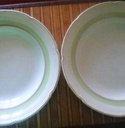 Plates of the 50s Konakovo ZIK