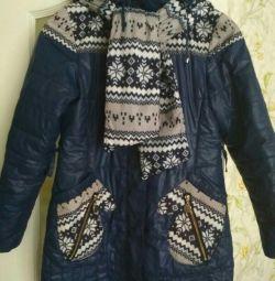 Куртка для дівчинки, демісезон зростання 146