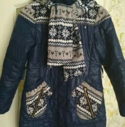 Куртка для девочки, демисезон рост 146