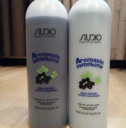 Shampoo and conditioner 1 + 1 liter