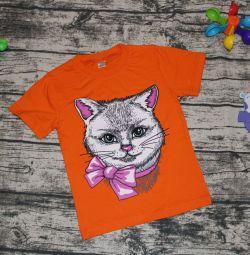 Μπλουζάκια από 1 έως 8 ετών, καινούργια