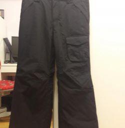 ORAGE μαύρα παντελόνια σκι 140-152 ύψος