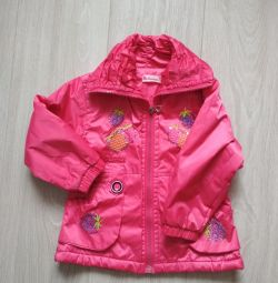 Jacket for a girl for 2-2.5 years