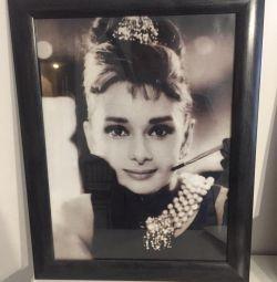 Audrey Hepburn Picture Frame