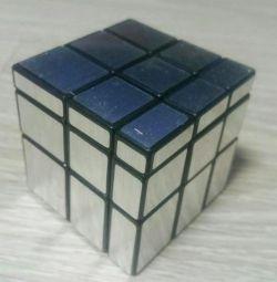 Кубик Рубрика сріблястий