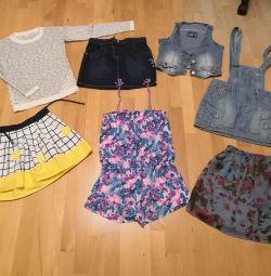Пакет вещей для девочки 146, 152, 158