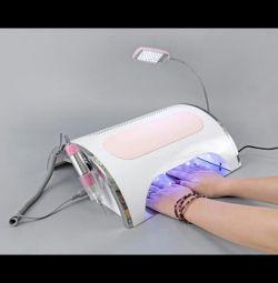 Dispozitiv de manichiură, lampă, aspirator