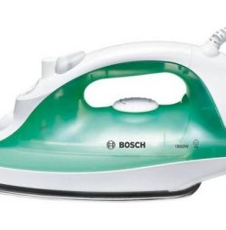 New, warranty Bosch TDA2315 iron green