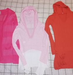A package of clothes for the girl is new and bu. 40/42