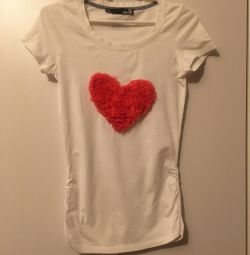 T-shirt knitted Love Moschino 44-46 size