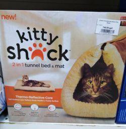 House - kediler için yatak