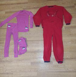 Polar takım elbise (membran için iç çamaşırı) 6 yıl
