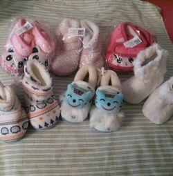 Pantofi noi pentru cei mici.