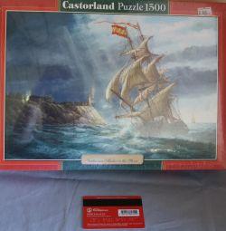 1500 κομμάτια του παζλ θύελλας (Castorland παζλ)