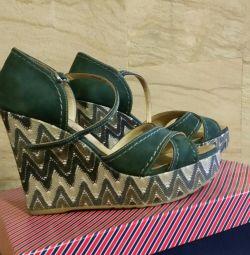 Sandale 38 piele