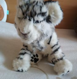 Interactive tiger cub