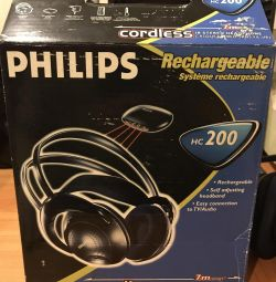 Philips Wireless Headphones HC200