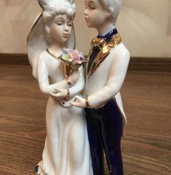 Figurine mire cu mireasa