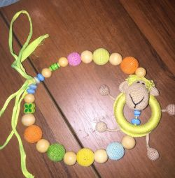Sling beads - a rodent. Bright