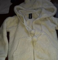Warm fur jacket