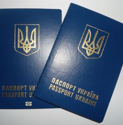 Passport of a citizen of Ukraine, international passport