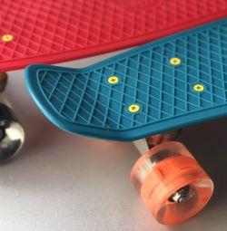 Skate με λαμπερούς τροχούς!