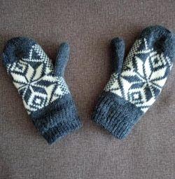 mănuși cu un deget