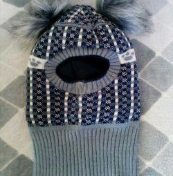 Καπέλο χειμώνα για ένα αγόρι 3-4 χρόνια