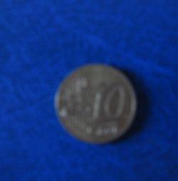 Monedă de 10 eurocenți