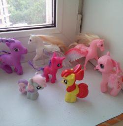 Игрушки пони лошадки