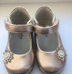 Δερμάτινα παπούτσια παίζουν σήμερα 22 μεγέθους