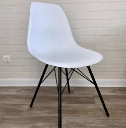 The chair is fashionable new