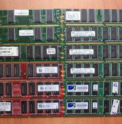 Модули памяти DDR400 256 512 MB