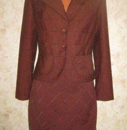 Kısa boy için takım elbise (ceket ve etek), s.44