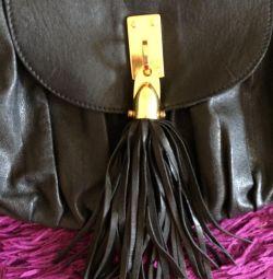 Top shop натуральна шкіра сумка