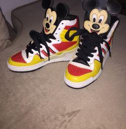 Adidas / disney πάνινα παπούτσια