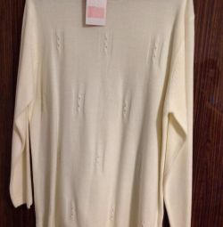 Новый свитер из кашемира 52-54