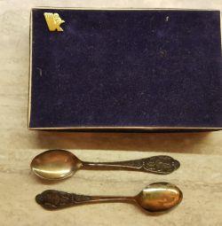 SSCB Vintage çay kaşığı