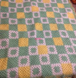 Knitted blanket for children