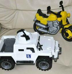Νέα μεγάλη μοτοσικλέτα + θωρακισμένη τιμή φορέα προσωπικού για 2