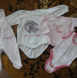 things for a newborn girl 0/3 mon
